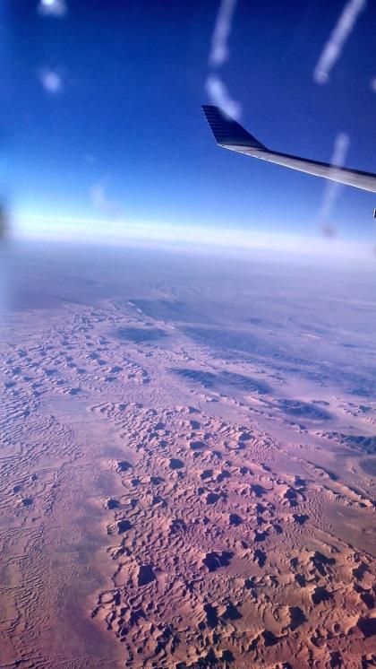 El desierto – sacada con el celu