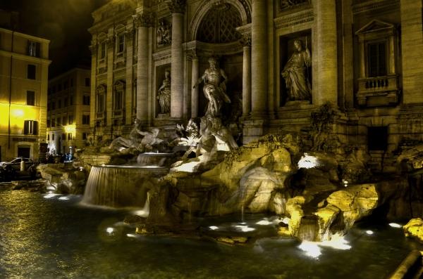 Fontana di Trevi, una belleza