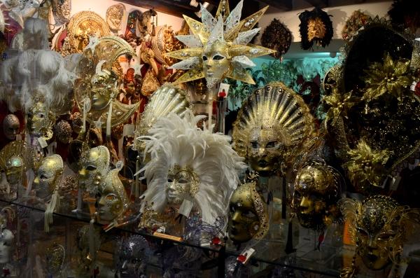 Máscaras artesanales de Carnaval