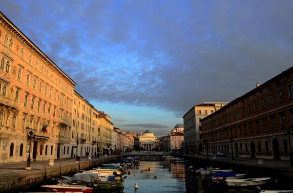 Canal principal de Trieste