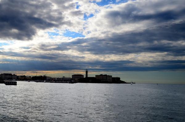 Otro atardecer en Trieste