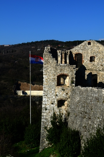 "El Castillo de Trsat - La zona ""vieja"""