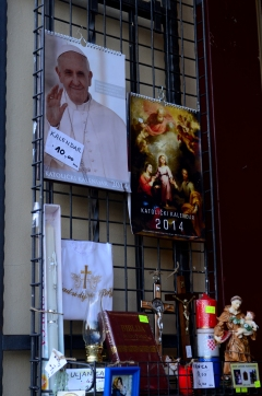 Francisco (Franjo en croata) no es solo popular en Argentina e Italia.