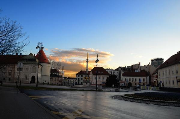 Atardecer en Zagreb
