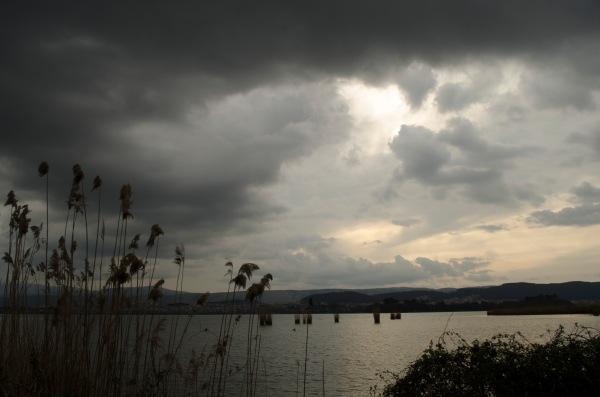 Foto desde la isla en Ioannina