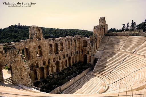 Teatro de Dionisio – Siglo VI ANTES DE CRISTO, si si, vieijto