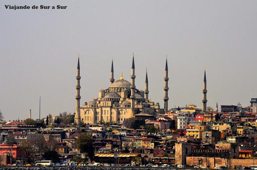 Fotón de Fuertes, marche postal – Mezquita Azul