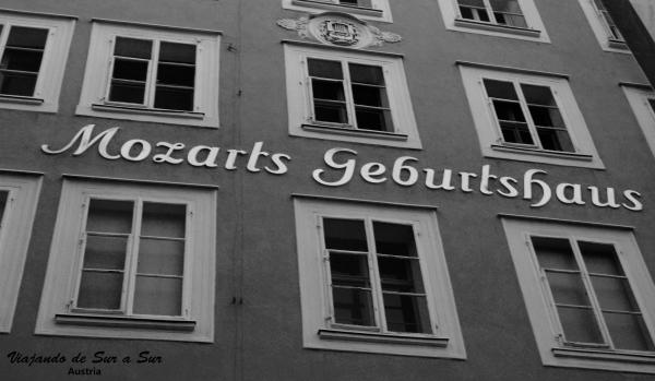 La casa donde nació Mozart
