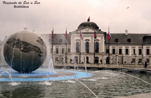Casa presidencial en Bratislava