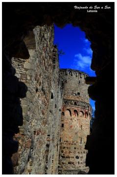 Interior del Castillo de Cesis