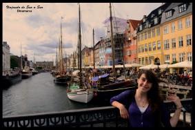 Flor en Nyhavn - Dinamarca