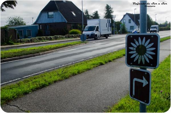 Margarit Ruten - si vas siguiendo la señalización la ruta es más que linda. Además hay una aplicación para el celular que te marca esta ruta y otra que te marca todos los campings en Dinamarca (libres y pagos). Gloria!