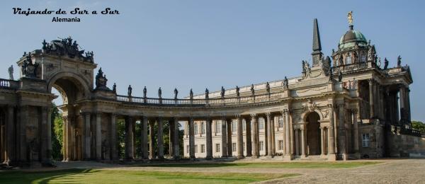 Uno de los palacios de Postdam