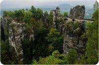 El bastei en Rathen - Alemania