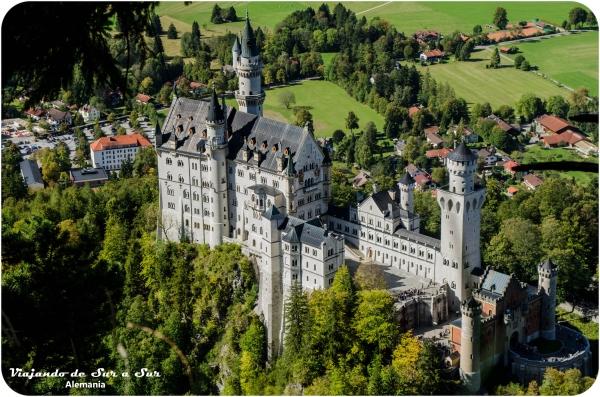 El castillo de Neuschwanstein :)