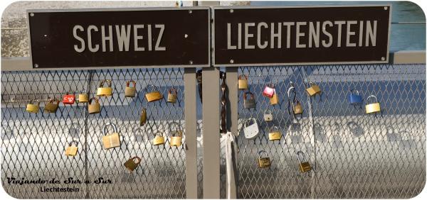 Puente que une Liechtestein con Suiza