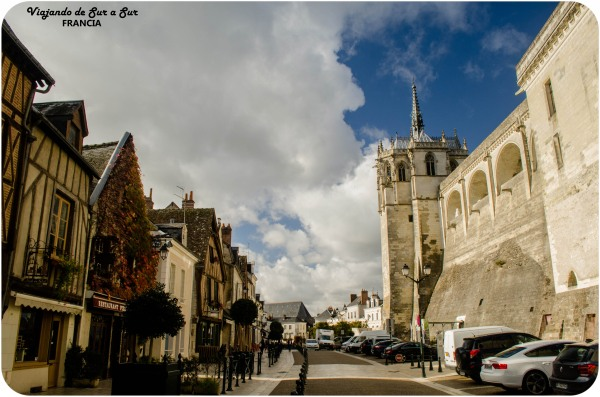 Amboise, la ciudad y el castillo. Imperdibles!