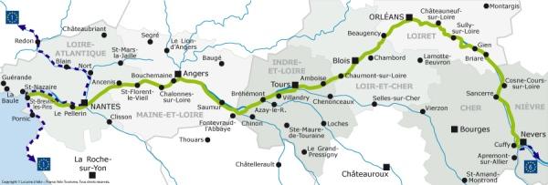 Recorrido de los Valles del Río Loira en Francia