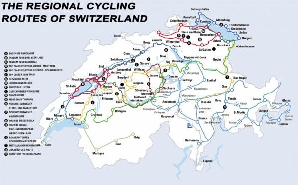 rutas ciclistas de suiza