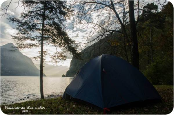 Acampe libre en Suiza